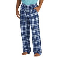 Life is Good Men's Darkest Blue Plaid Classic Sleep Pant