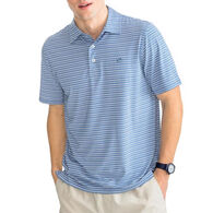 Southern Tide Men's Fantail Striped Performance Polo Short-Sleeve T-Shirt