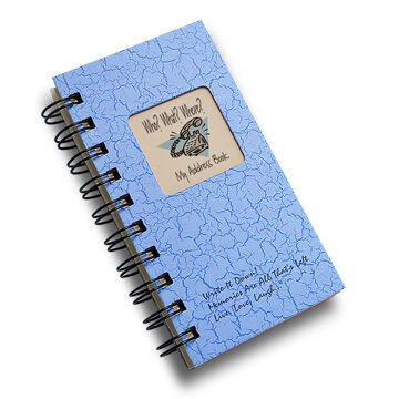 "Journals Unlimited ""Write It Down!"" Who? What? Where? Mini Address Book"
