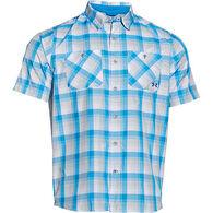 Under Armour Men's Chesapeake Plaid Short-Sleeve Shirt