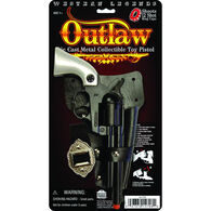 Parris Manufacturing Outlaw Toy Pistol & Holster Set
