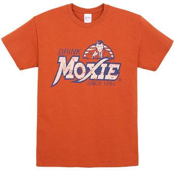 East Coast Printers Mens Drink Moxie Distressed Short-Sleeve T-Shirt