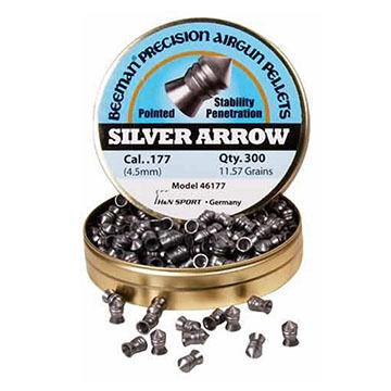 Beeman Silver Arrow 177 Cal. Pointed Airgun Pellet (200)