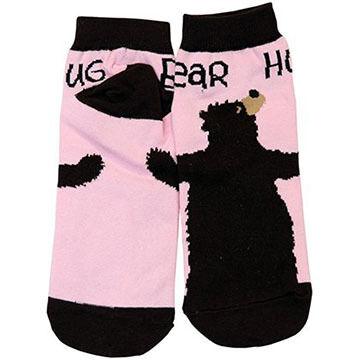 Lazy One Womens Bear Hug Sock