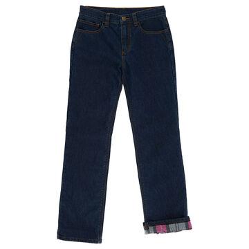 Carhartt Girls Denim Flannel-Lined Jean