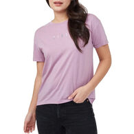 tentree Women's River Flowers Embroidery Short-Sleeve T-Shirt