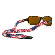 Croakies Suiters USA Flag Eyewear Retainer
