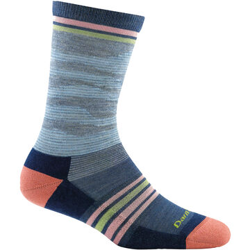 Darn Tough Vermont Womens Waves Light Cushion Crew Sock