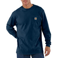 Carhartt Men's Big & Tall Workwear Long-Sleeve Pocket T-Shirt