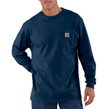Carhartt Mens Big & Tall Workwear Long-Sleeve Pocket T-Shirt