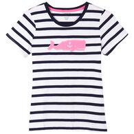 Hatley Little Blue House Women's Whales Pajama Short-Sleeve T-Shirt