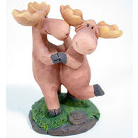 Slifka Sales Co Dancing Moose Couple Figurine