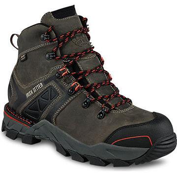 Irish Setter Mens Crosby Nano Toe Waterproof EH Hiker Work Boot