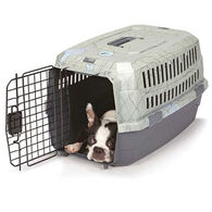Dog is Good Never Travel Alone Small Animal Crate