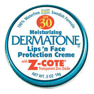 Dermatone SPF 30 Lips 'n Face Protection Creme Mini Tin - 0.5 oz.