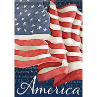 Carson Home Accents Flagtrends Waving Flag  Garden Flag