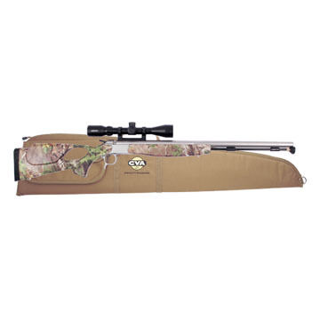 CVA Optima V2 Thumbhole 50 Cal. Stainless Steel / Xtra Green Muzzleloader w/ KonusPro 3-9x40mm Scope