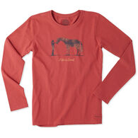 Life is Good Women's LIG Horse Crusher Long-Sleeve T-Shirt