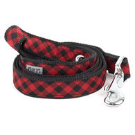 The Worthy Dog Bias Buffalo Plaid Dog Lead