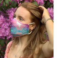 Puppie Love Men's & Women's Tie Dye Face Mask