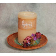 Spiral Light Candle Vanilla - Large