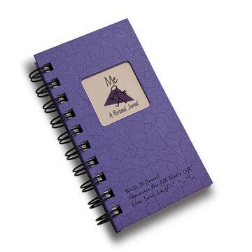 "Journals Unlimited ""Write it Down!"" Mini-Size Personal Journal - Purple"
