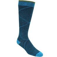 Goodhew Women's Diamond Maze Knee-High Sock - Special Purchase