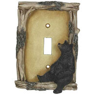 Rivers Edge Bear Single Switch Cover