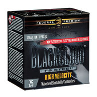 "Federal Premium Black Cloud FS Steel High Velocity 12 GA 3"" 1-1/8 oz. #4 Shotshell Ammo (25)"