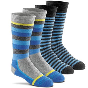 Fox River Mills Boys Snow Day Sock, 2-Pack