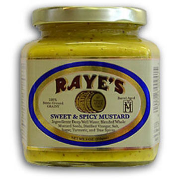 Raye's Sweet and Spicy Mustard - 9 oz.
