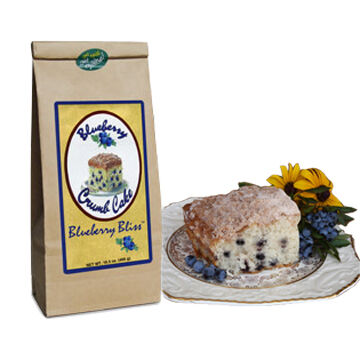 Blueberry Bliss 'Blueberry Crumbcake' Baking Mix, 16.5 oz.