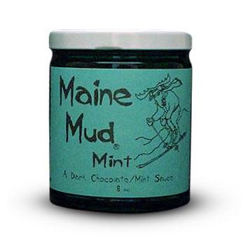 Maine Mud Mint Dark Chocolate Sauce - 4 oz.