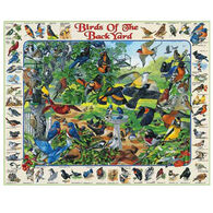 White Mountain Jigsaw Puzzle - Birds Of The Backyard
