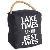 Pavilion Lake Times Door Stopper