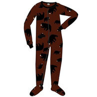 Lazy One Toddler Boys' Timberland Bear Footeez Pajama