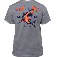 Salt Life Boy's Camo Shark Short-Sleeve T-Shirt