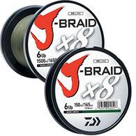Daiwa J-Braid x8 Braided Saltwater Line - 150 Yards