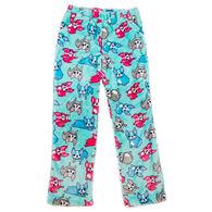 Candy Pink Girl's French Bulldog Pajama Pant
