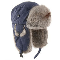 Yukon Tracks Men's Nylon Aviator Hat with Rabbit Fur