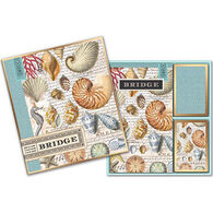 Michel Design Works Shells Bridge Card Set