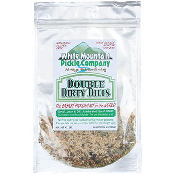 White Mountain Pickle Co. Double Dirty Dill Pickling Kit, 2 oz.