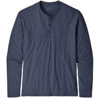 Patagonia Men's Organic Cotton Lightweight Henley Long-Sleeve Pullover