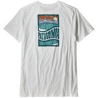 Patagonia Men's Cosmic Peaks Organic Cotton Short-Sleeve T-Shirt