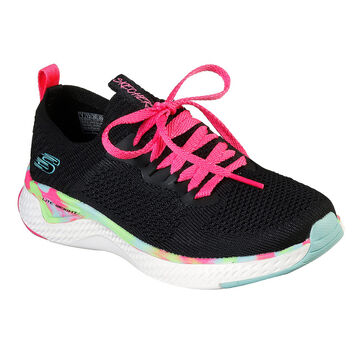 Skechers Girls Solar Fuse Athletic Shoe