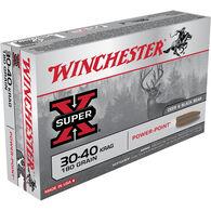Winchester Super-X 30-40 Krag 180 Grain Power-Point Rifle Ammo (20)