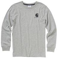 Carhartt Boy's Logo Long-Sleeve Shirt