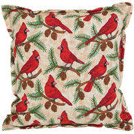 "Paine Products 6"" x 6"" Cardinal Print Balsam Pillow"