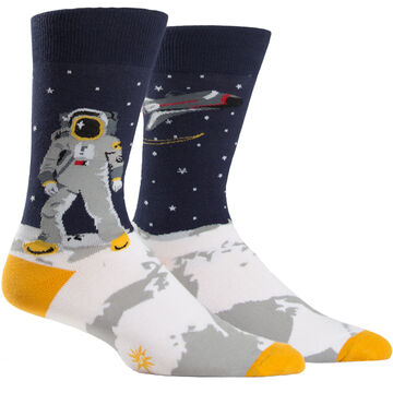Sock It To Me Mens One Giant Leap Sock