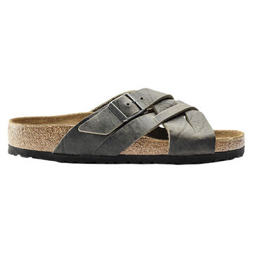Birkenstock Mens Lugano Oiled Leather Sandal